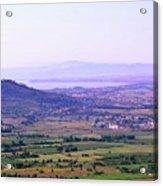 Cortona Tuscany Italy Acrylic Print