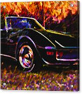 Corvette Beauty Acrylic Print