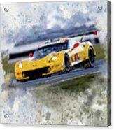 Corvette Racing Acrylic Print