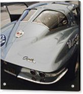 Corvette Split Window Acrylic Print