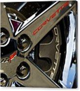 Corvette Spokes II Acrylic Print