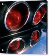 Corvette Tail Lights Acrylic Print