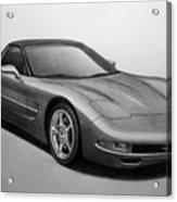 Corvette Acrylic Print