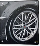 Corvette Wheel Acrylic Print