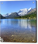 Cosley Lake Outlet - Glacier National Park Acrylic Print