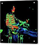 Cosmic Bullfrog Blues Acrylic Print
