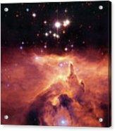 Cosmic Cave Acrylic Print