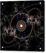 Cosmic Clockworks Acrylic Print