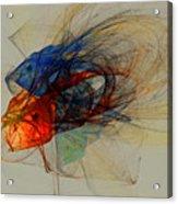 Cosmic Fish Acrylic Print