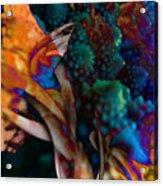 Cosmic Flower Acrylic Print