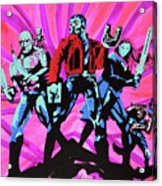 Cosmic Guardians Of The Galaxy 2 Acrylic Print