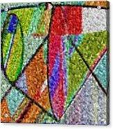 Cosmic Lifeways Mosaic Acrylic Print