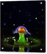 Cosmic Mushroom Acrylic Print