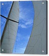 Cosmic Sails Acrylic Print