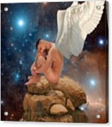 Cosmic Skies Acrylic Print by Crispin  Delgado