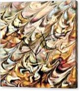 Cosmic Storm Rolling In Acrylic Print