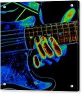 Cosmic String Bender Acrylic Print