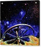 Cosmic Wheel Acrylic Print