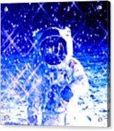 Cosmic Wonders Cropped Acrylic Print