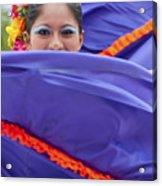 Costa Maya Dancer II Acrylic Print