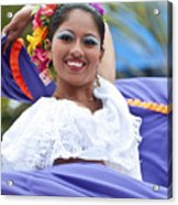 Costa Maya Dancer Acrylic Print