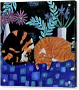 Cosy Companions Acrylic Print