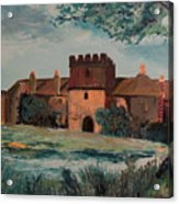 Cotehele Manor House Acrylic Print