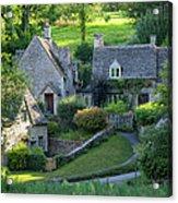 Cotswold Cottages Acrylic Print