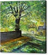 Cotswold Lane  Acrylic Print
