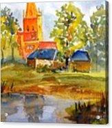 Cotswolds England Church Acrylic Print