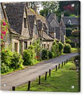 Cotswolds Homes Acrylic Print