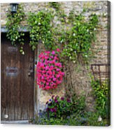 Cotswolds Milk Delivery Acrylic Print