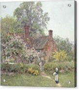 Cottage At Chiddingfold Acrylic Print