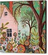 Cottage Garden 1 Acrylic Print