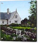 Cottage, Graiguenamanagh Acrylic Print