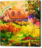 Cottage In Maine Acrylic Print