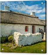 Cottage In Wales Acrylic Print