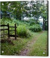 Cottage Path Acrylic Print