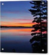 Cottage Sunset Acrylic Print