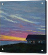Cottage with a View Acrylic Print
