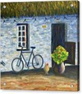 Cottage Life Acrylic Print
