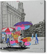 Cotton Candy At The Cne Acrylic Print