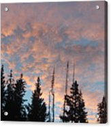 Cotton Candy Sky Acrylic Print