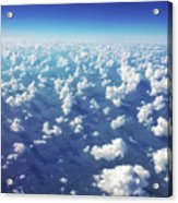 Cotton Clouds Acrylic Print