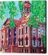 Cottonwood County Courthouse  Acrylic Print