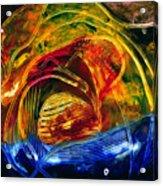 Coucher De Soleil Acrylic Print