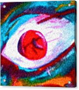 Cought In Her Eye Acrylic Print