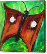 Count Dracufly Acrylic Print