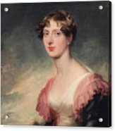 Countess Of Plymouth By Sir Thomas Lawrence Acrylic Print