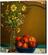 Country Apples Acrylic Print